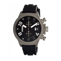 Breed Arnold Chronograph Men's Watch w/ Date  -  Black BRD0301
