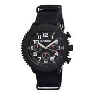 Breed Decker Nylon-Band Chronograph Men's Watch  -  Brown BRD1503