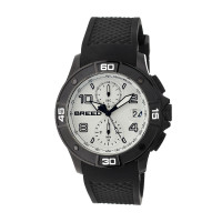 Breed Raylan Chronograph Men's Watch w/ Date  -  Black/Orange BRD5808