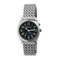 Breed Ray Moon-Phase Men's Bracelet Watch w/ Date  -  Rose Gold/Black BRD6506