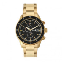 Breed Maverick Chronograph Bracelet Watch w/Date - Gold BRD7502