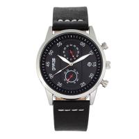 Breed Andreas Mesh-Bracelet Watch w/ Date - Gold/Black BRD8702