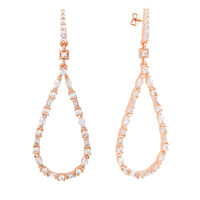 Bertha Juliet 18k Rose Gold Plated Drop Earrings BRJ20019EO