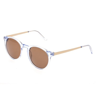 Bertha Hayley Polarized Sunglasses - Blue/Brown