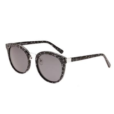 Bertha Lucy Polarized Sunglasses - Black Marble/Black