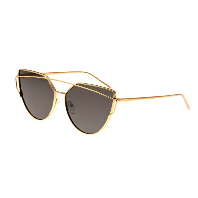 Bertha Aria Polarized Sunglasses - Gold/Black