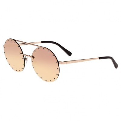 Bertha Harlow Polarized Sunglasses - Rose Gold/Rose Gold