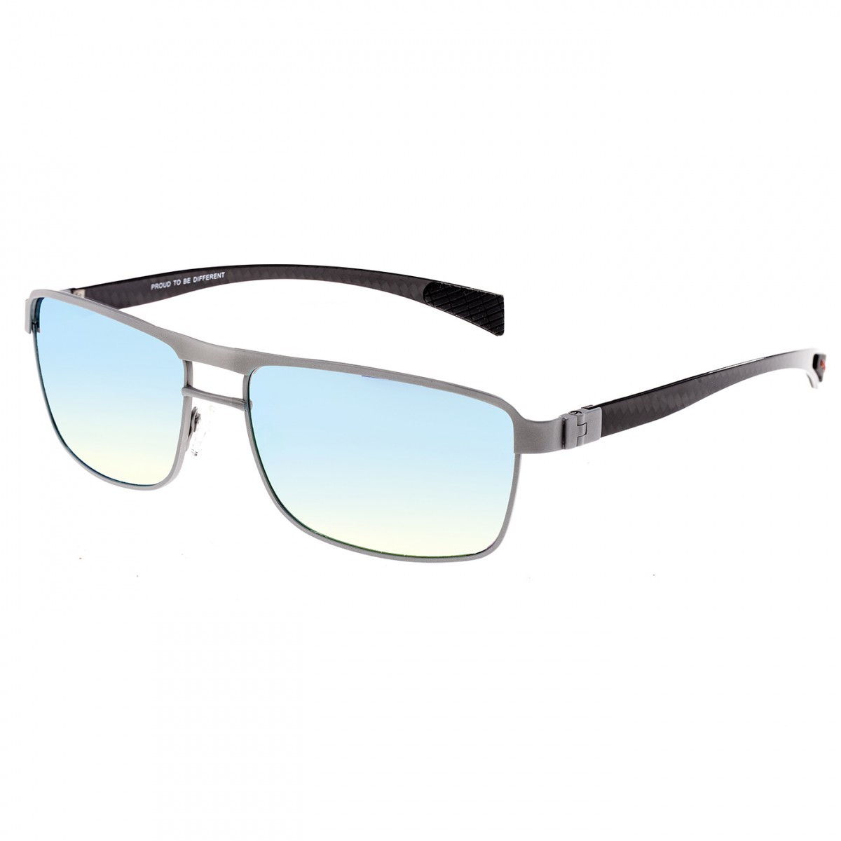 f16bd20fc5654 Breed Taurus Titanium and Carbon Fiber Polarized Sunglasses - Silver Gold  BSG005SR