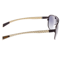 Breed Apollo Titanium and Carbon Fiber Polarized Sunglasses - Brown/Brown BSG006BN