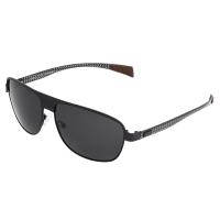 Breed Hardwell Titanium and Carbon Fiber Polarized Sunglasses - Gunmetal/Silver BSG007GM