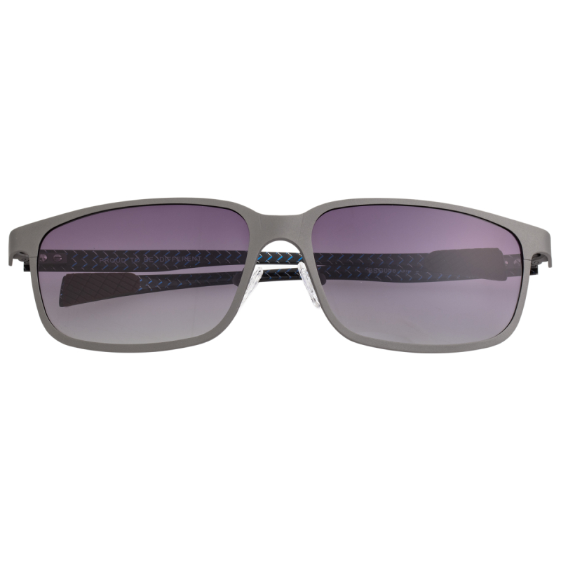 Breed Neptune Titanium and Carbon Fiber Polarized Sunglasses - Gunmetal/Black BSG008GM