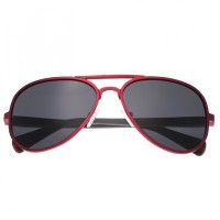 Breed Dorado Titanium Polarized Sunglasses - Red/Black BSG030RD