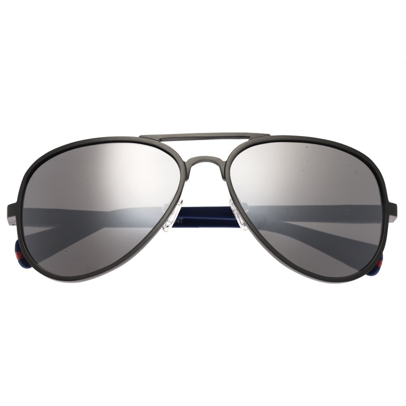 Breed Dorado Titanium Polarized Sunglasses - Gunmetal/Black BSG030SR