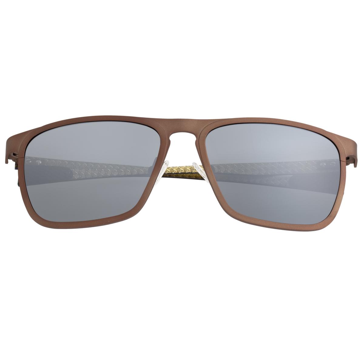efe8c119ba70 Breed Capricorn Titanium Polarized Sunglasses - Brown/Black BSG031BN ...