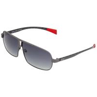 Breed Sagittarius Titanium Polarized Sunglasses - Brown/Black BSG032BN