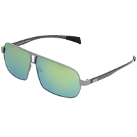 Breed Sagittarius Titanium Polarized Sunglasses - Gunmetal/Black BSG032GM
