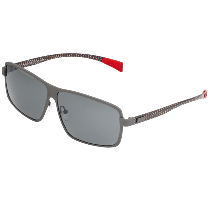 Breed Finlay Titanium Polarized Sunglasses - Gunmetal/Black BSG033GM
