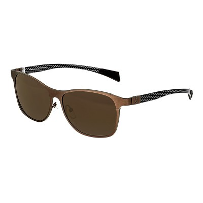Breed Templar Titanium Polarized Sunglasses - Brown/Brown