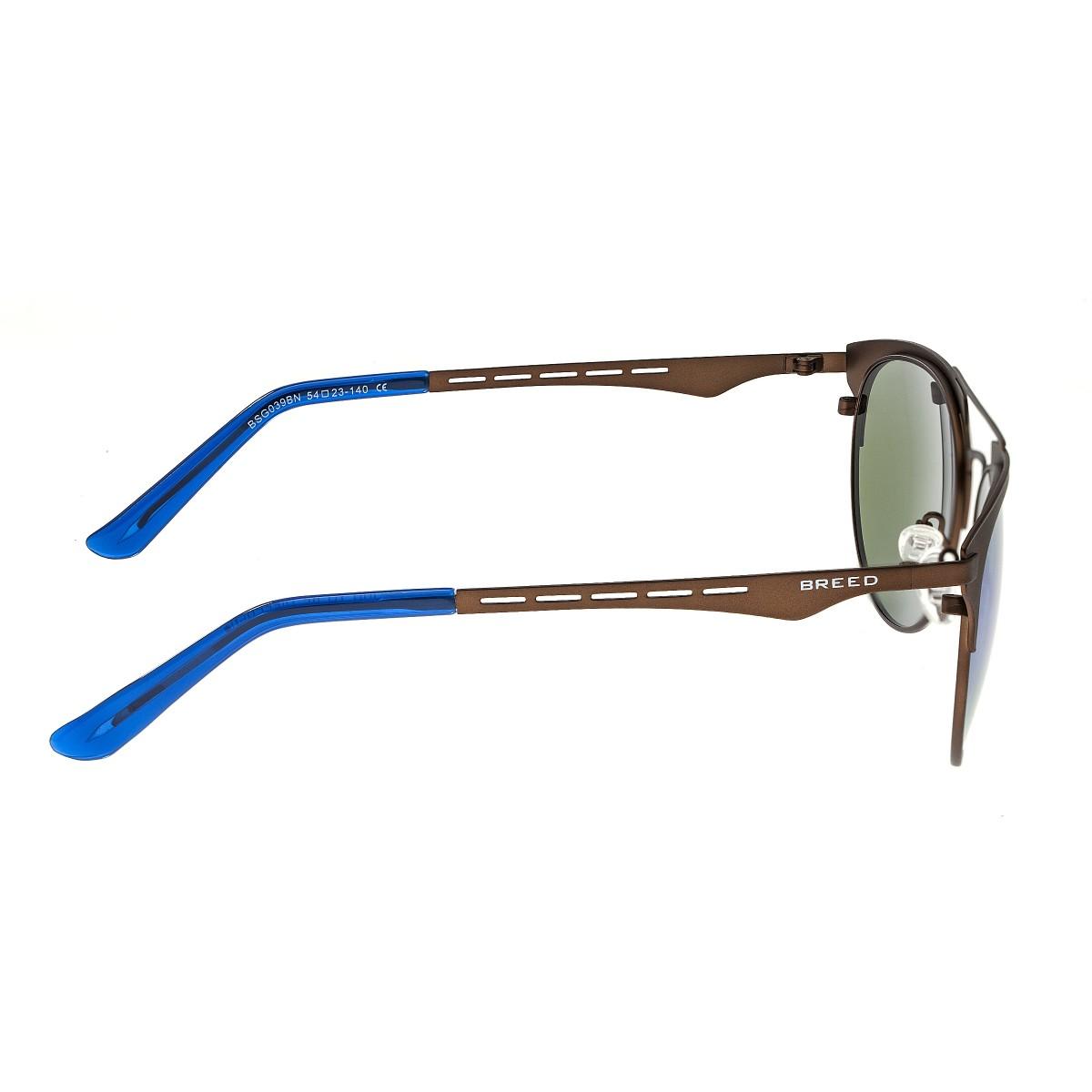 add6099f6eab Breed Hercules Titanium Polarized Sunglasses - Brown/Blue BSG039BN ...