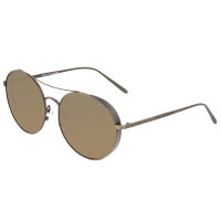 Breed Barlow Titanium Polarized Sunglasses - Brown/Black BSG055RB
