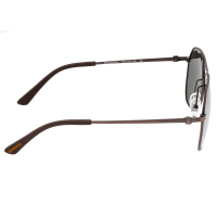 Breed Mount Titanium Polarized Sunglasses - Brown/Silver BSG056RB