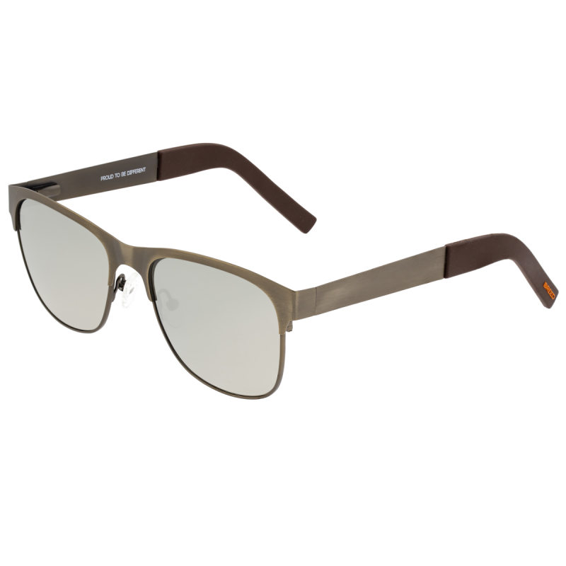 Breed Hypnos Titanium Polarized Sunglasses - Bronze/Silver BSG057BN
