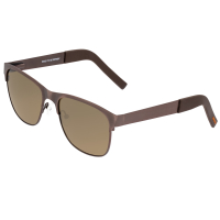 Breed Hypnos Titanium Polarized Sunglasses - Gunmetal/Black BSG057GY