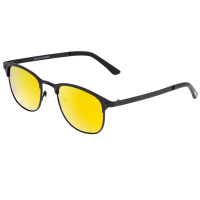 Breed Phase Titanium Polarized Sunglasses - Gunmetal/Blue BSG058GM