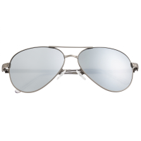 Breed Void Titanium Polarized Sunglasses - Gunmetal/Silver BSG059GM
