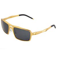 Breed Orpheus Aluminum Polarized Sunglasses - Gunmetal/Black BSG062GM