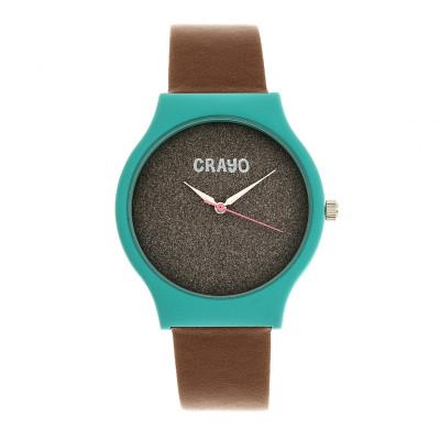 Charcoal / Teal / Brown