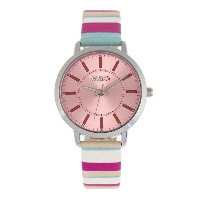 Pink / Silver / Beige