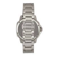 Elevon Hughes Special Edition Full Luminous Dial Bracelet Watch w/ Date - Silver/White ELE100-6SE