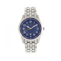 Elevon Garrison Bracelet Watch w/Date - Gold/White ELE105-5
