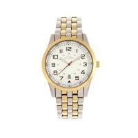 Elevon Garrison Bracelet Watch w/Date - Silver/Black ELE105-2