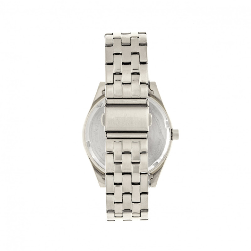 Elevon Gann Bracelet Watch w/Day/Date - Silver/Black ELE106-2