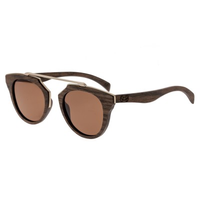 Earth Wood Ceira Polarized Sunglasses - Brown/Brown