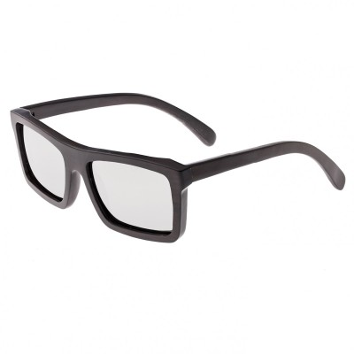 Earth Wood Hamoa Polarized Sunglasses - Espresso/Silver