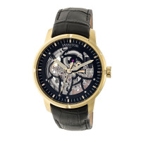 Heritor Automatic Ryder Skeleton Dial Bracelet Watch - Silver/White