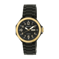 Heritor Automatic Spartacus Bracelet Watch w/Day/Date - Rose Gold/Black