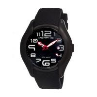 Morphic M2 Series Men's Chronograph Watch w/ Date - Silver/Black MPH0301