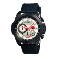 Morphic M28 Series Chronograph Men's Watch w/ Date - Silver MPH2801