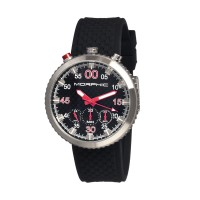 Morphic M29 Series Chronograph Men's Watch - Silver/Black MPH2902