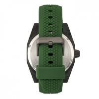 Morphic M34 Series Men's Watch w/ Day/Date - Black/Green MPH3408
