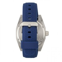 Morphic M34 Series Men's Watch w/ Day/Date - Silver/Blue MPH3409