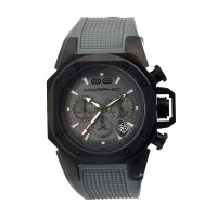 Morphic M35 Series Chronograph Men's Watch w/ Date - Black/Grey MPH3506