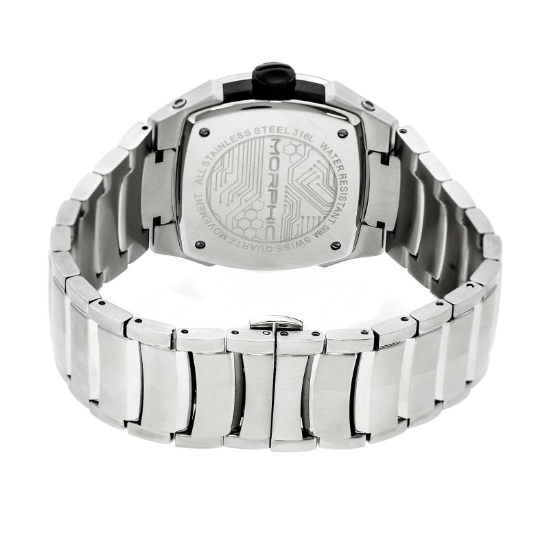 Morphic M43 Series Men's Swiss Bracelet Watch - Charcoal MPH4303