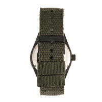 Morphic M69 Series Canvas-Band Watch - Black/Olive MPH6906