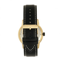 Morphic M71 Series Leather-Band Watch w/Date - Gold/Black MPH7103