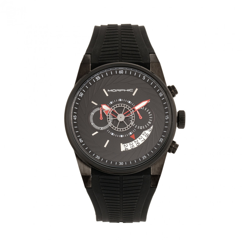 Morphic M72 Series Strap Watch - Black MPH7205
